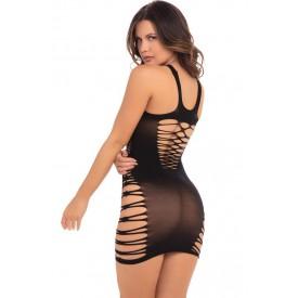 Облегающее бесшовное мини-платье