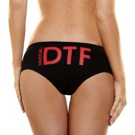 Женские трусики Hustler с аббревиатурой DTF